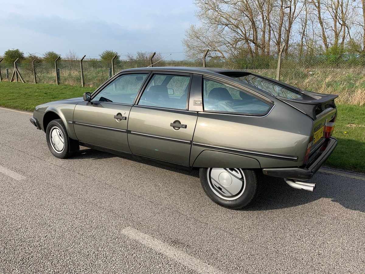 1985 Stunning low mileage Citroen CX GTI Turbo For Sale (picture 4 of 6)