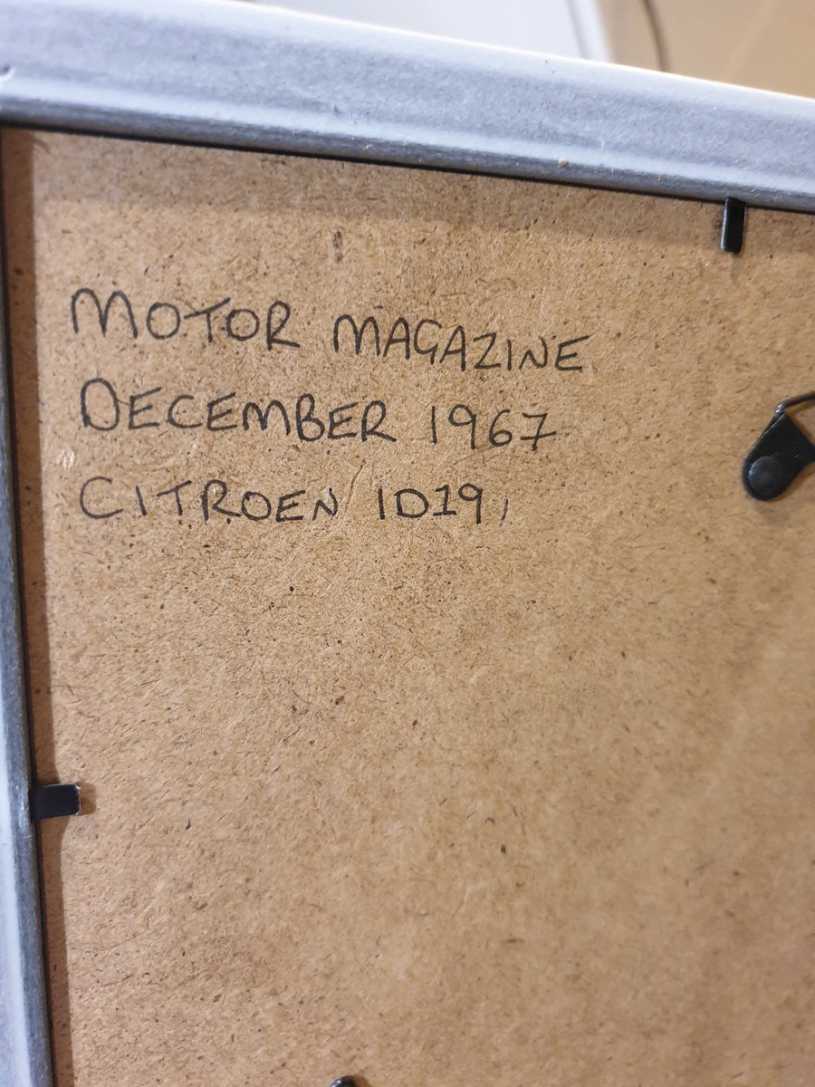 1967 Original Citroen ID19 Advert For Sale (picture 2 of 2)
