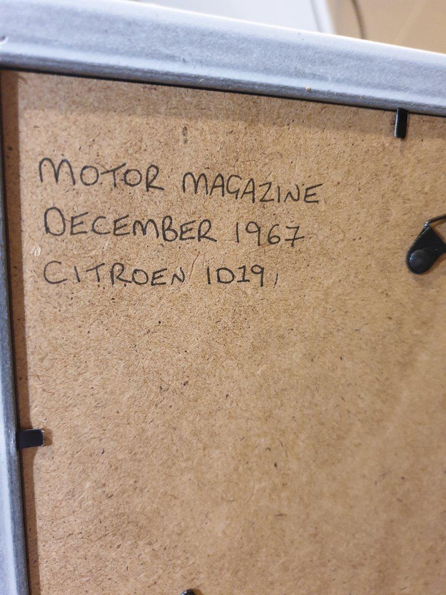 Original 1967 Citroen ID19 Advert For Sale (picture 2 of 2)