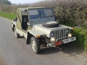 Citroen 2cv Jeep replica, like Mehari