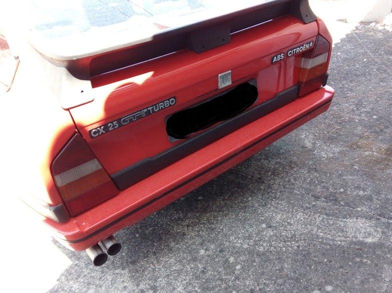 1986 Citroen 25 cx gti turbo For Sale (picture 6 of 6)