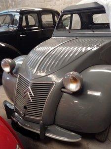 1957 Citroen 2cvs