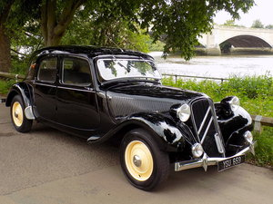 1950 CITROEN 11B Normale Traction Avant - CONCOURS Condition SOLD