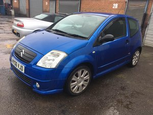 2006 Citroen C2 VTS 1.6 16v Petrol 3 Door Hatchback For Sale