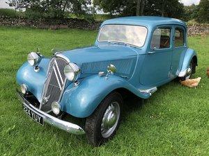 1950 Citroen Light 15 For Sale