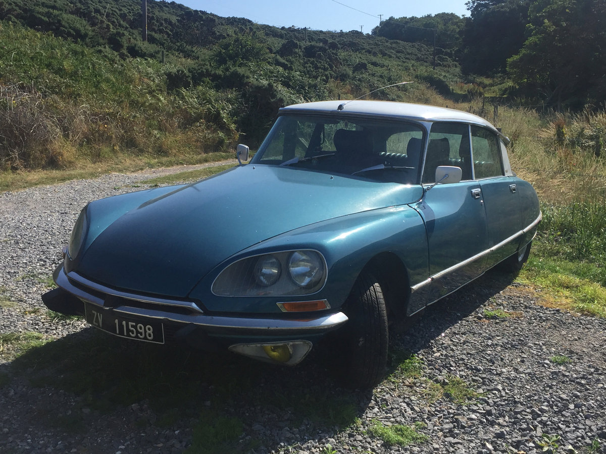 1974 DS 23 IE Pallas, Leather, no fake upgrade original For Sale (picture 1 of 6)