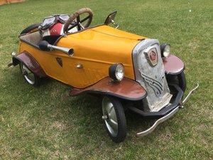 Citroen Pedal car..post war vintage