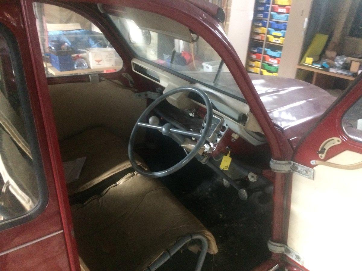1966 Citroen 2 CV 4 door For Sale (picture 2 of 6)