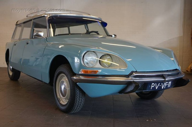 1977 CITROËN DS20 Break  For Sale by Auction (picture 1 of 6)
