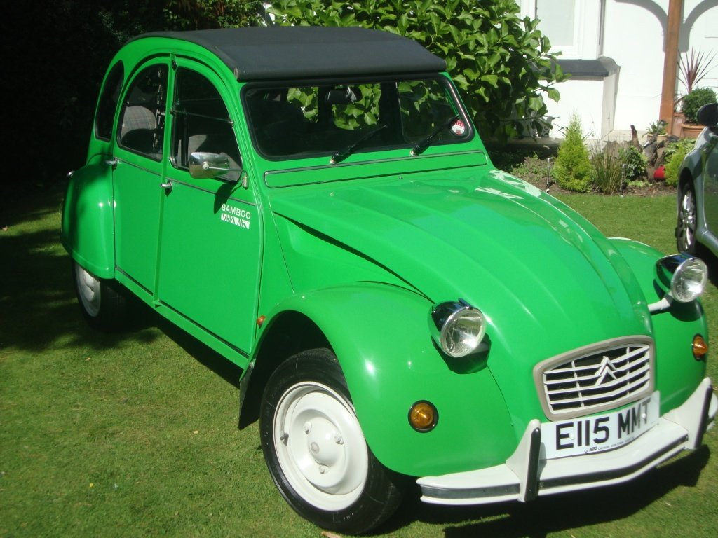 Citroen 2 CV Bamboo Special Edition 1987 For Sale (picture 1 of 6)