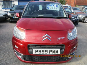 2010 SMART  C3 MPV IN MATALIC RED LOW MILAGE JUST 47,000 NEW MOT