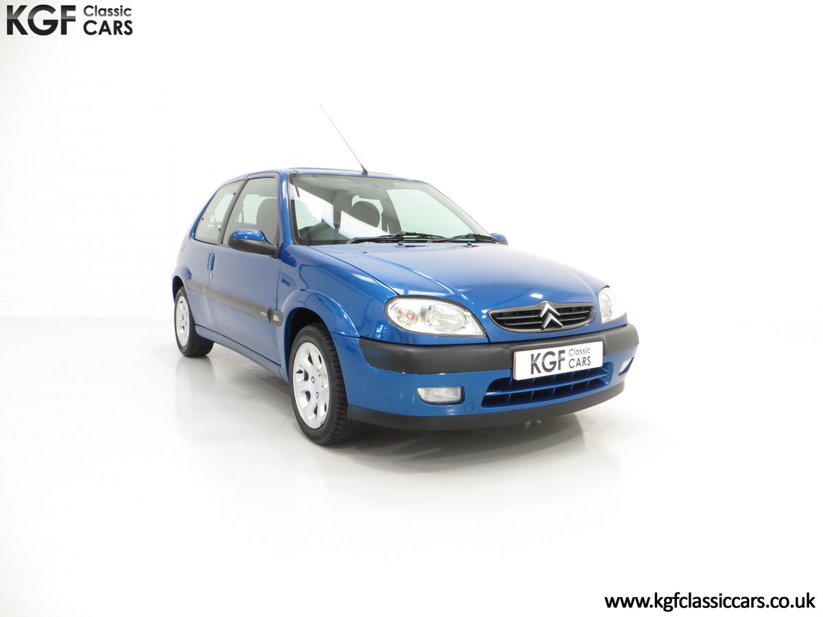 2003 A Tremendous Citroen Saxo VTR with 29,938 Miles For Sale (picture 1 of 6)
