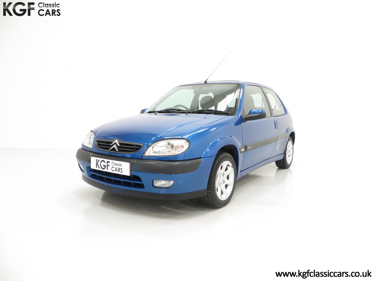 2003 A Tremendous Citroen Saxo VTR with 29,938 Miles For Sale (picture 2 of 6)