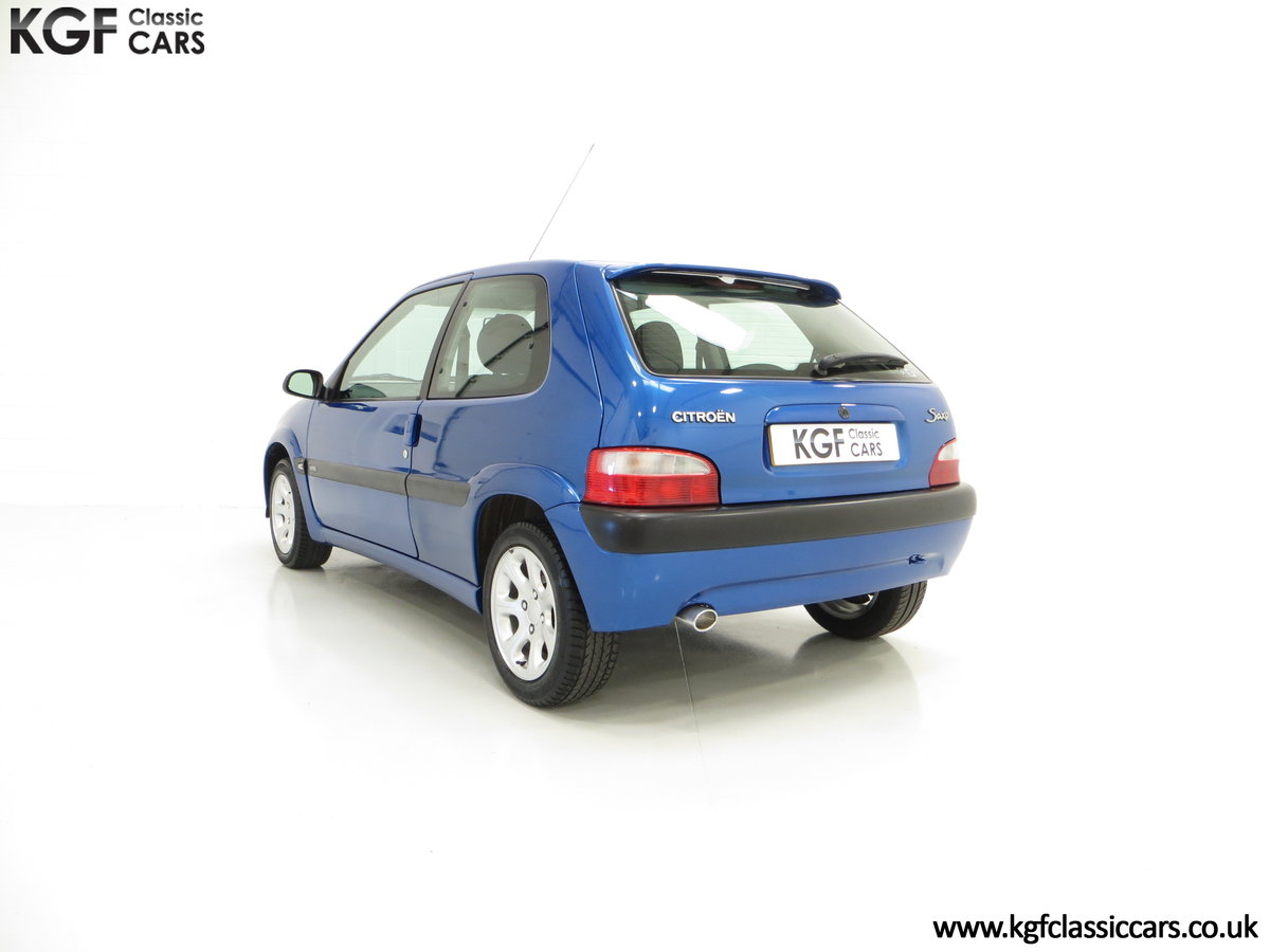 2003 A Tremendous Citroen Saxo VTR with 29,938 Miles For Sale (picture 4 of 6)