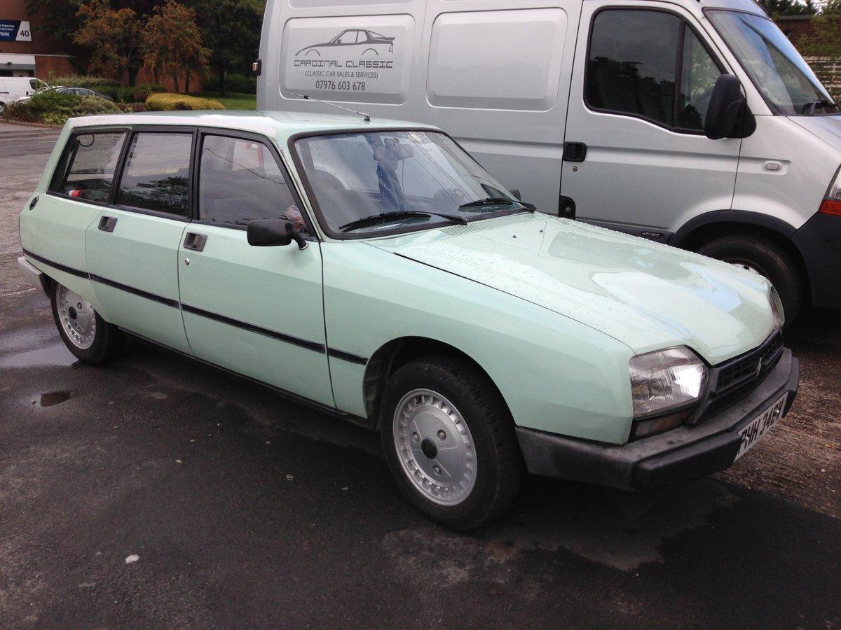 1980 CITROEN GSA SPÈCIAL ESTATE LHD TAX & MOT EXEMPT 2020 For Sale (picture 1 of 6)