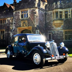 1954 Citroen traction Light 15 RHD slough