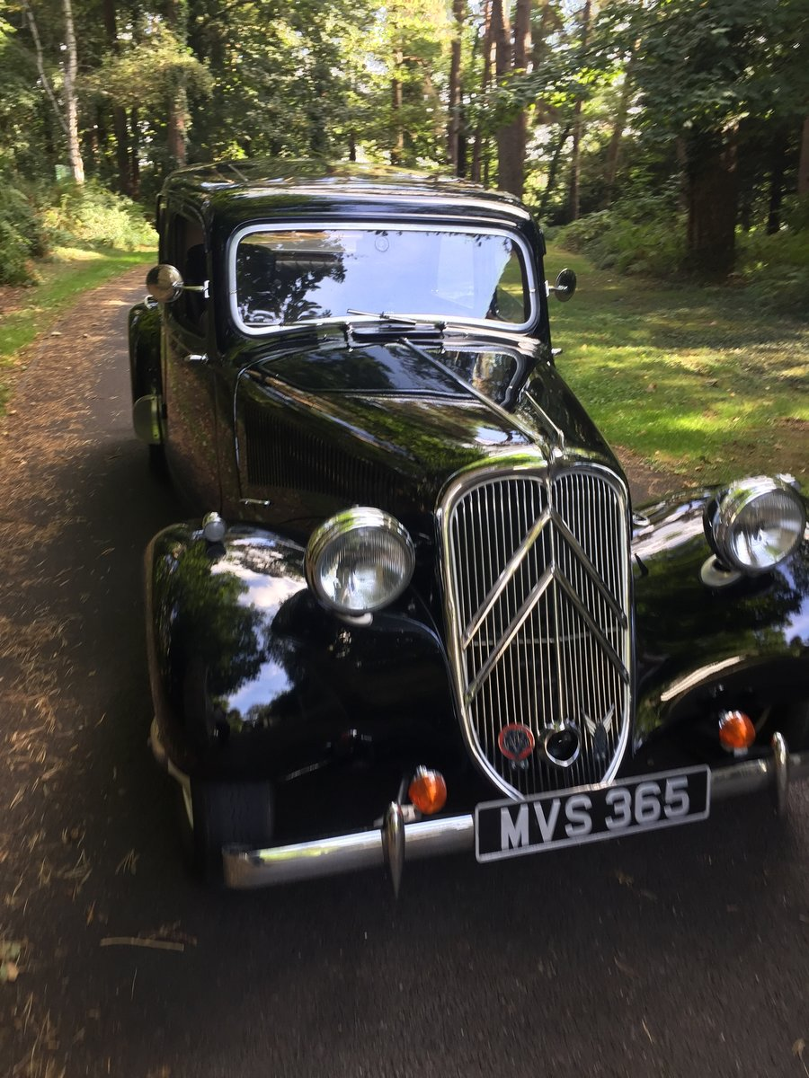 1954 Citroen traction Light 15 RHD slough For Sale (picture 5 of 6)