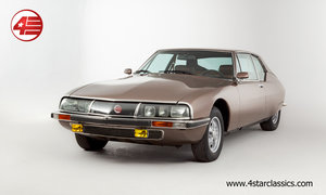1973 Citroen SM /// Rare Michelin RR wheels