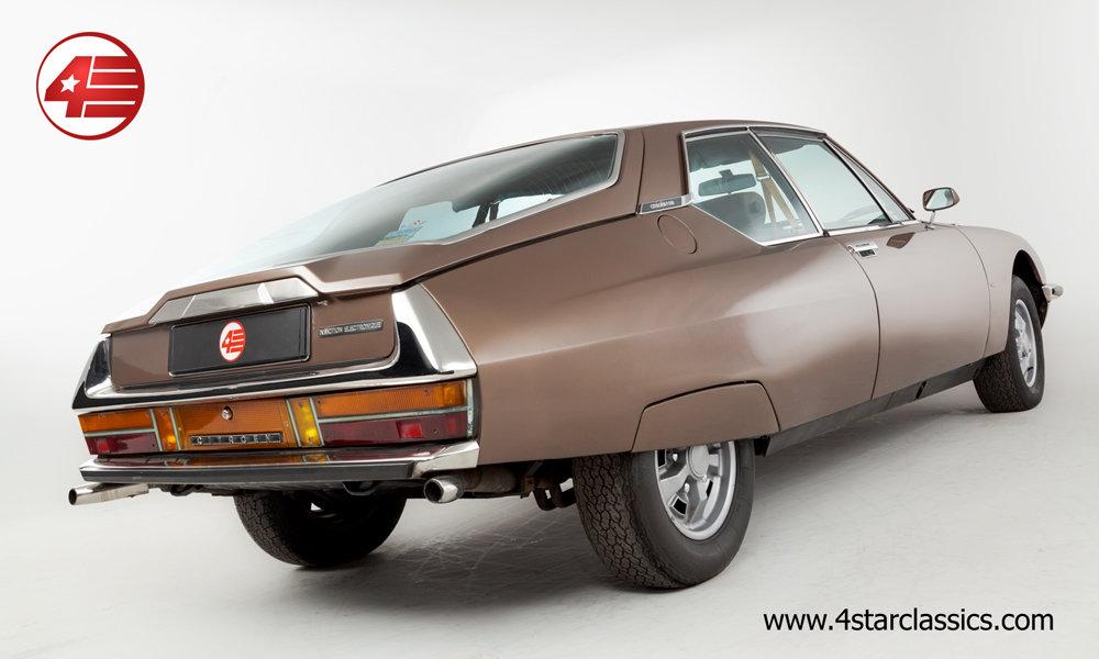 1973 Citroen SM /// Rare Michelin RR wheels For Sale (picture 3 of 6)