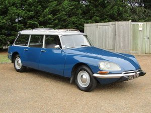 1968 Citroen DS21 Safari RHD at ACA 24th August  For Sale
