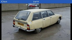 1978 breaking this vehicle for parts 01257795272