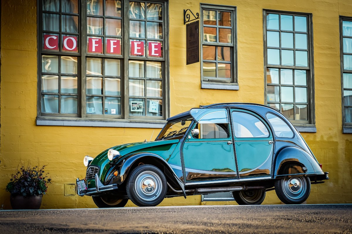 1965 Citroen 2CV Charleston = Go Green(~)Grey Clean $17k  For Sale (picture 1 of 6)