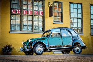 1965 Citroen 2CV Charleston = Go Green(~)Grey Clean $17k  For Sale