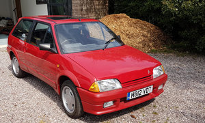 1991 Citroen AX GT 'Mk 1' For Sale by Auction