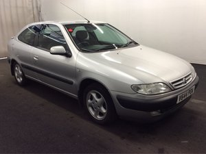 1999 CITROEN XSARA 1.8 VTR 16V COUPE S1 66K FSH 1 LADY OWNER