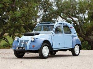 1964 Citron 2CV 4x4 Sahara