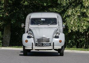 1964 Citron 2CV AZU AK350 Light Van