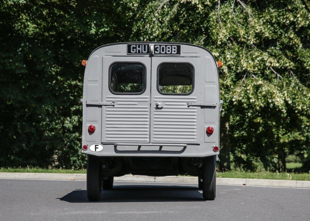 1964 Citron 2CV AZU AK350 Light Van SOLD by Auction (picture 4 of 6)
