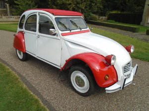 1986 Citroen 2CV6 Special, 602cc.  For Sale