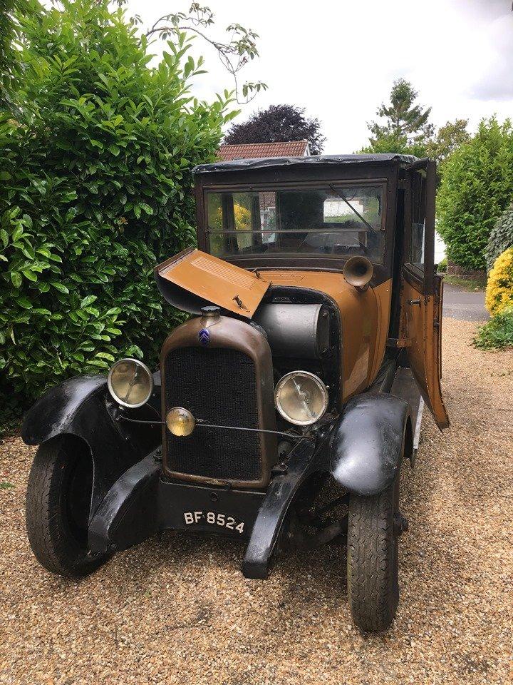 1928 Citroen B14 large vintage citroen for restoration For Sale (picture 1 of 3)