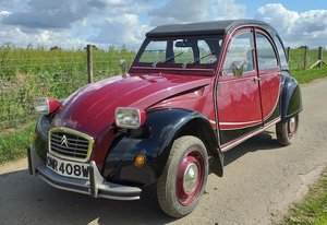 1981 CITROEN 2CV CHARLESTON For Sale by Auction