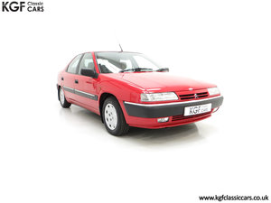 1994 A Rare Phase 1 Citroen Xantia 2.0i SX with 21,806 Miles. SOLD