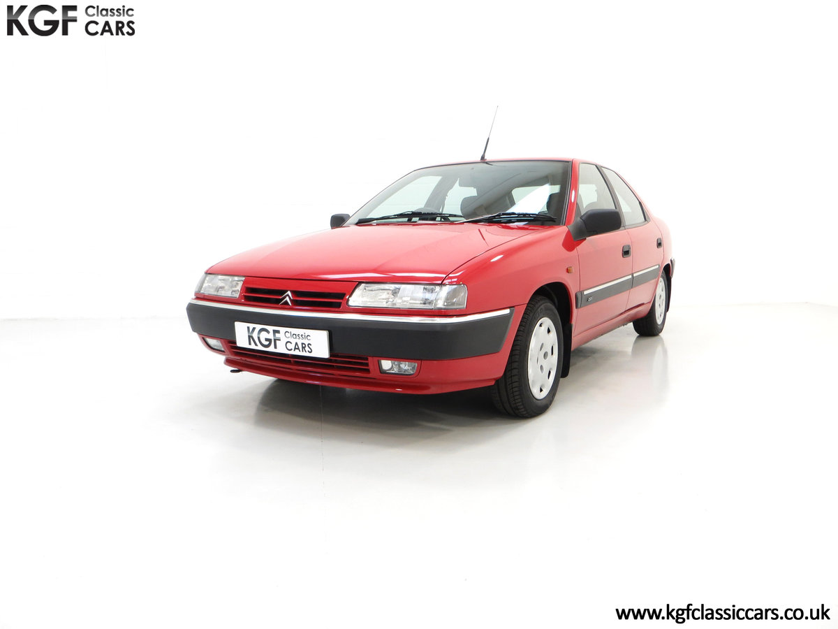 1994 A Rare Phase 1 Citroen Xantia 2.0i SX with 21,806 Miles. For Sale (picture 2 of 6)
