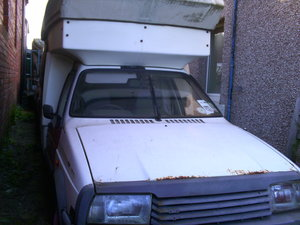 1989 Citroen C15 Romahome  diesel Restoration Project For Sale