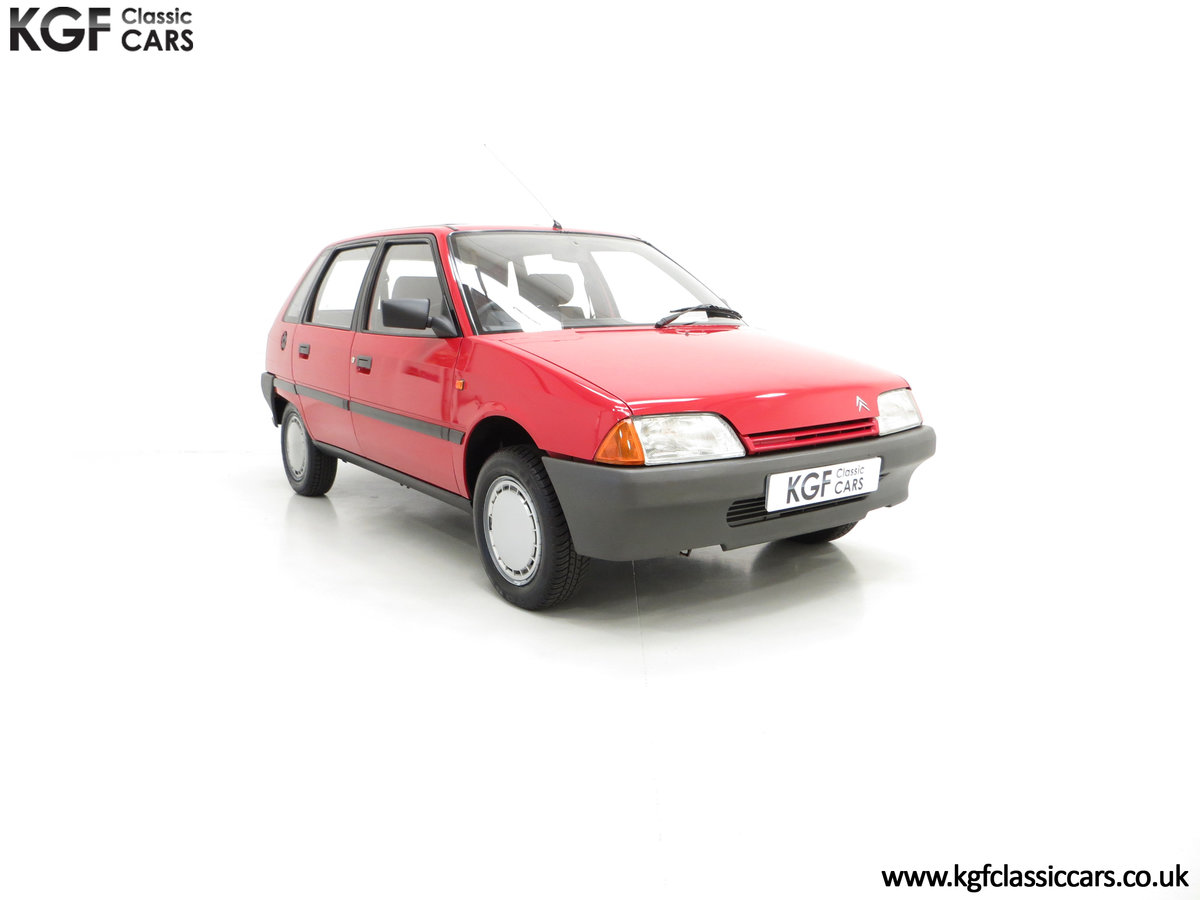 1989 A Super Rare Phase 1 Citroen AX 11RE with 39,280 Miles For Sale (picture 1 of 6)