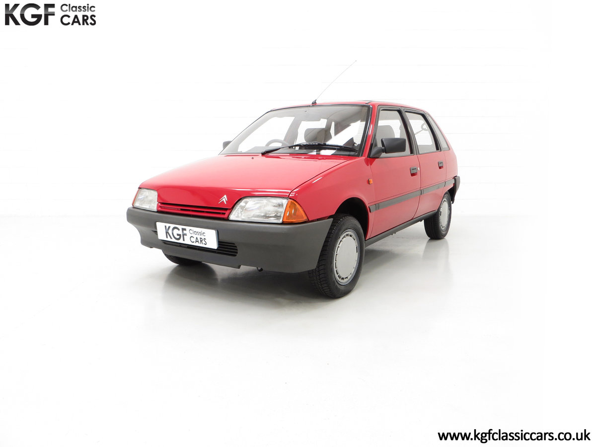 1989 A Super Rare Phase 1 Citroen AX 11RE with 39,280 Miles For Sale (picture 2 of 6)