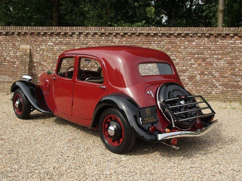1938 Citroen Traction Avant 7C Pre-War, extensive history file For Sale (picture 2 of 6)