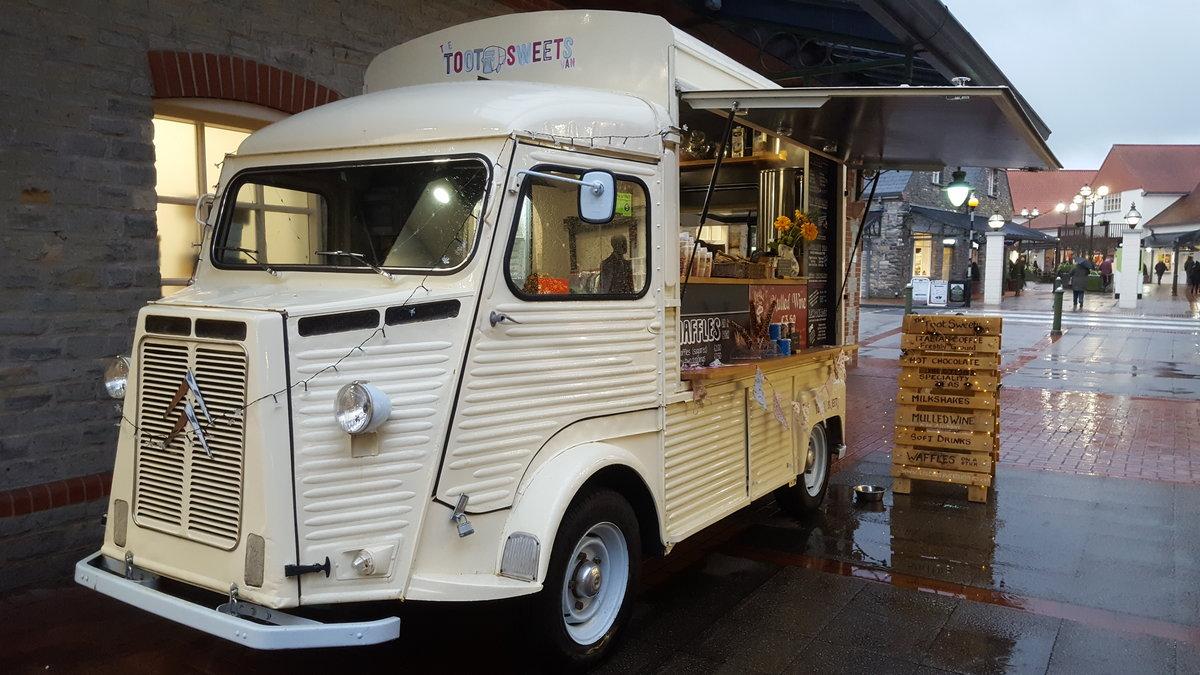 1970 Citroen H Van Catering Food Truck For Sale (picture 1 of 6)