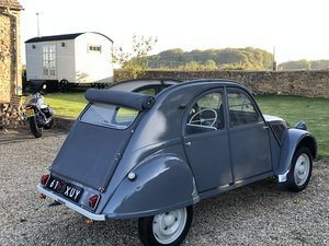 1956 Citroen 2CV Ripple Bonnet (602cc engine)