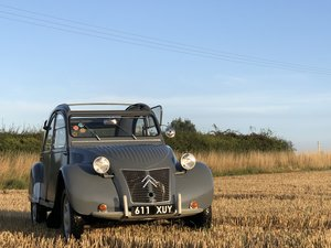 1956 Citroen 2CV Ripple Bonnet (602cc engine) For Sale