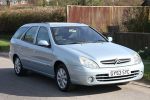 2003 Citroen Xsara 2.0 Hdi LX Diesel Automatic Estate