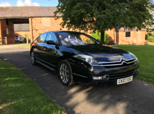 2007 Citroen C6 2.7 HDi Exclusive - Black / Cream