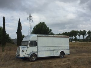 1974 Citroen HY van extra long wheelbase/high