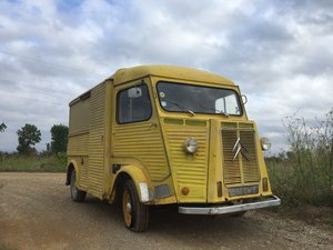 1969 Citroen HY, ideal food truck