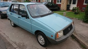 1983 Citroen Visa L  24,000 Mile For Sale