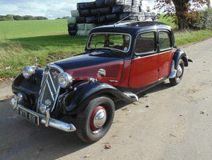 1954 Citroen Light 15 (Slough) For Sale